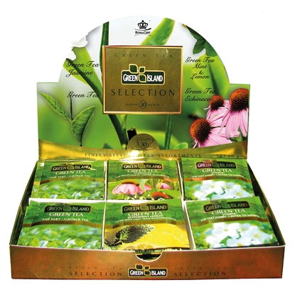Picture of Green Island Green tea, selection, 30 pcs