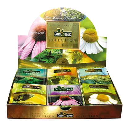 Picture of Green Island Herbal tea, selection, 30 pcs