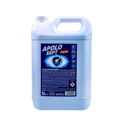 Picture of Apolo Disinfectant Sept Forte, for surfaces, 5 L