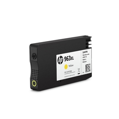 Picture of HP Патрон 3JA29AE, 963XL, 1600 страници/5%, Yellow