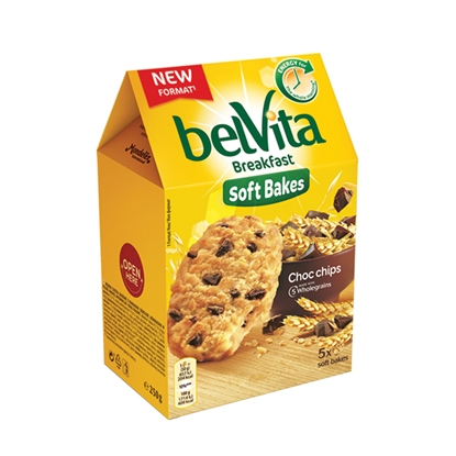 Picture of Belvita Soft Bakes, shock, 250 g