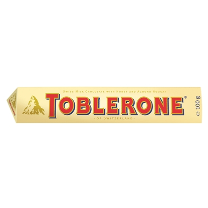 Picture of Toblerone Chocolate, milk, 100 g