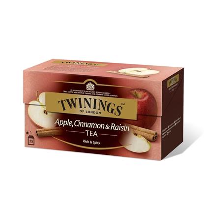 Picture of Twinings Tea  Apple, cinnamon and raisins , 2 g, in individual packets, 25 pcs
