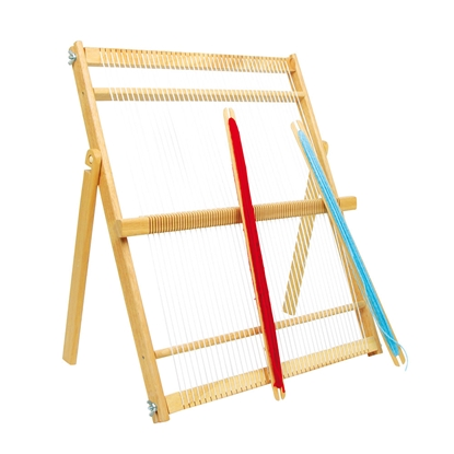 Picture of Weaving loom, wooden, large, 50 x 24 x 52 cm