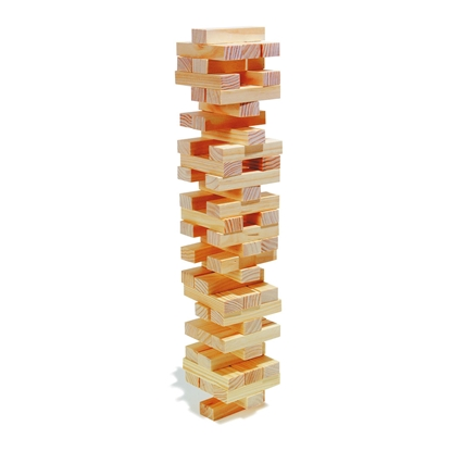Picture of Game Jenga, wooden, 60 pieces