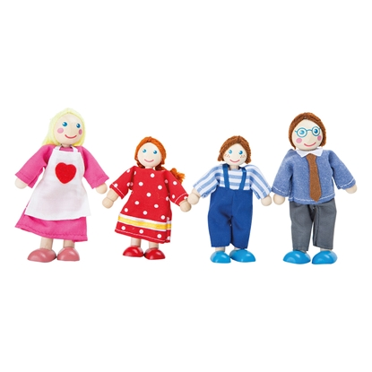 Picture of Dolls Family, 4 pieces