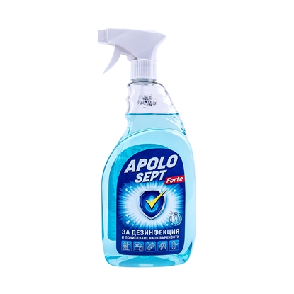 Picture of Apolo Disinfectant Sept Forte, pump, for surfaces, 750 ml