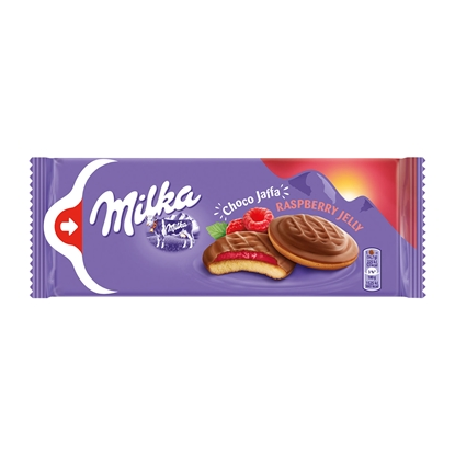Picture of Milka Biscuits, raspberry, 147g