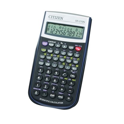 Picture of Citizen Calculator SR-270, 12-bit, black