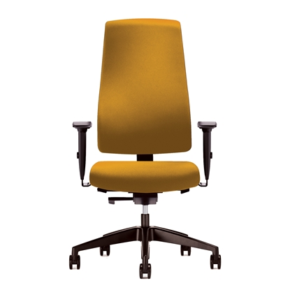 Picture of Interstuhl Ergonomic chair Goal 24/7, yellow