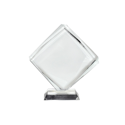 Picture of BESTSUB Crystal Octahedron, 15.5 x 13 cm, customizable