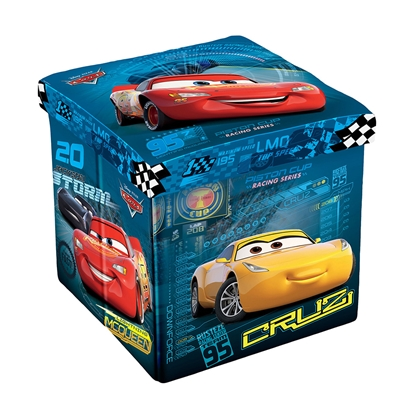 Picture of Disney Pouf Cars, 3in1, MDF and textile, up to 150 kg