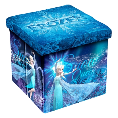 Picture of Disney Pouf Frozen II, 3in1, MDF and textile, up to 150 kg