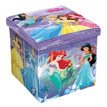 Picture of Disney Pouf Princess, 3in1, MDF and textile, up to 150 kg