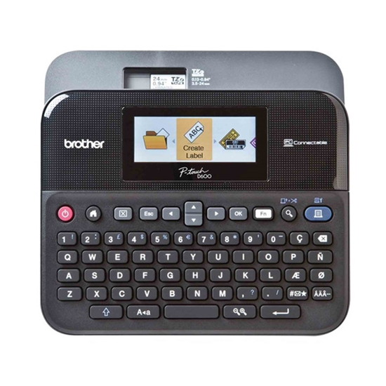 Picture of Brother Label printer PT-D600VP, maximum label width 24 mm