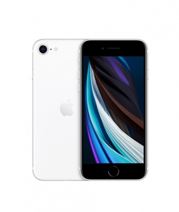 Снимка на Apple Смартфон iPhone SE2, 256 GB, 3 GB RAM, 12 MP камера, 4.7'', бял