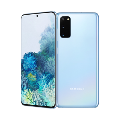 Снимка на Samsung Смартфон Galaxy S20, Dual SIM, 128 GB, 8 GB RAM, 88 MP камера, 4000 mAh, 6.2'', син