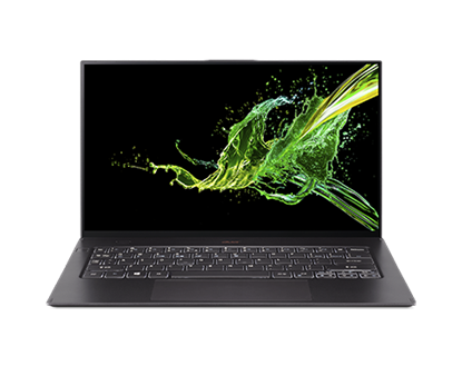 Picture of Acer Laptop Swift 7 NX.H98EX.008, 14, Intel Core i7, 512 GB SSD, 8 GB RAM, Windows 10 Pro, black