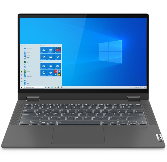 Снимка на Lenovo Лаптоп Flex 5 81X1009LBM, 14'', Intel Core i5, 512 GB SSD, 8 GB RAM, графитено-сив