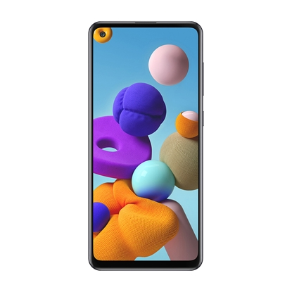 Снимка на Samsung Смартфон Galaxy A21s, Dual SIM, 32 GB, 3 GB RAM, 60 MP камера, 5000 mAh, 6.5'', черен