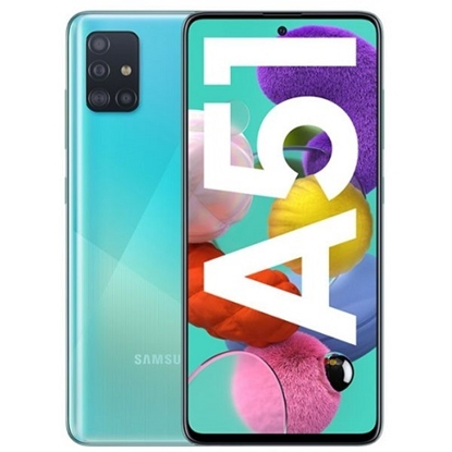 Снимка на Samsung Смартфон Galaxy A51, Dual SIM, 128 GB, 4 GB RAM, 70 MP камера, 4000 mAh, 6.5'', син