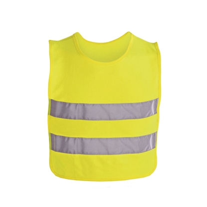 Picture of Tank top, reflecrtive, for children, 37 x 47 cm, yellow