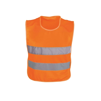Picture of Tank top, reflective, for children, 37 x 47 cm, orange