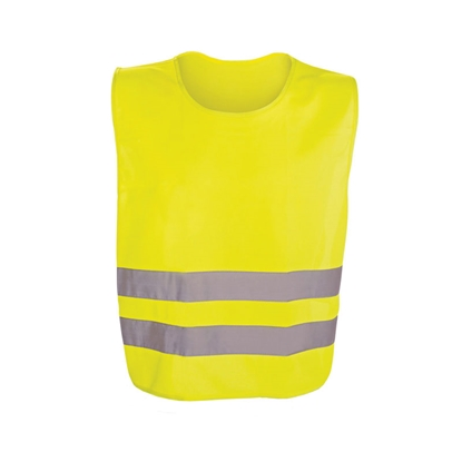 Picture of Tank top, reflective, 54 x 62 cm, yellow