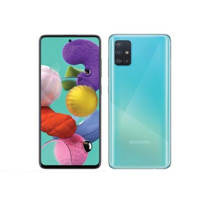 Снимка на Samsung Смартфон Galaxy A71, Dual SIM, 128 GB, 6 GB RAM, 86 MP камера, 4500 mAh, 6.7'', син