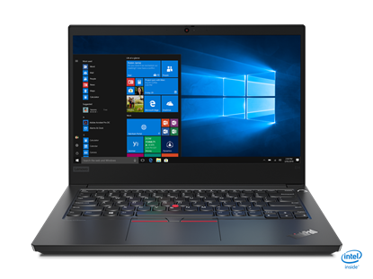 Picture of Lenovo Laptop ThinkPad Edge E14 20T6000MBM/3, 14, AMD Ryzen 7, 512 GB SSD, 8 GB RAM, black