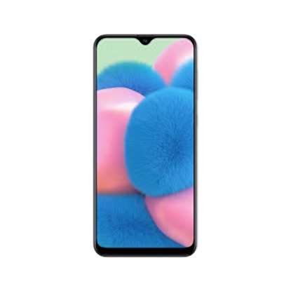 Снимка на Samsung Смартфон Galaxy A30s, Dual SIM, 64 GB, 4 GB RAM, 16 MP камера, 4000 mAh, 6.4'', бял