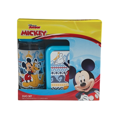 Picture of Disney Set Mickey Mouse, bottle 500 ml and lunch box