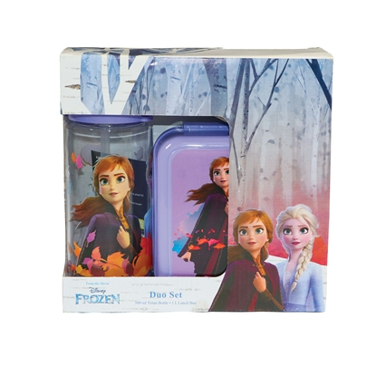 Picture of Disney Set Frozen, bottle 500 ml and lunch box