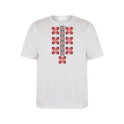 Picture of T-shirt with folklore motifs, short sleeves, childrens, option 2