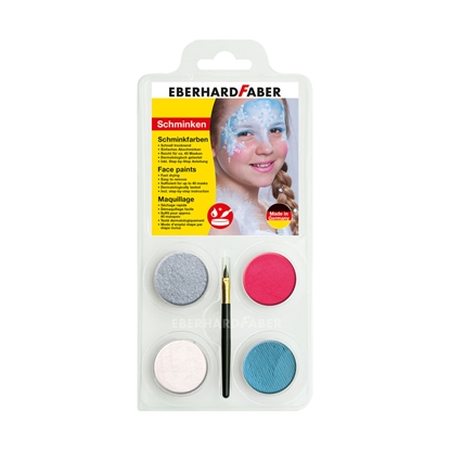 Picture of Eberhard Faber Face paints Ice princess, 4 colours