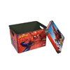 Picture of Disney Set Spiderman, storage box 10 L, lunch box 1 L, bottle with a straw 370 ml, glass 280 ml