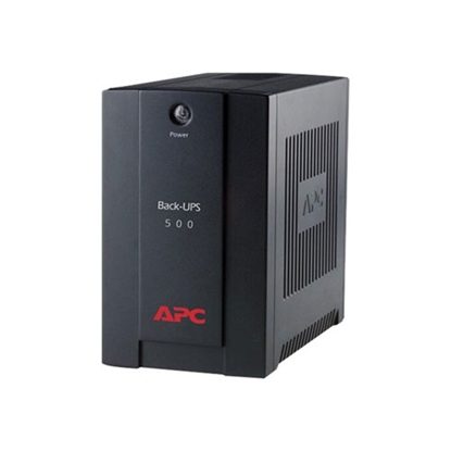 Picture of APC Uninterruptible power supply device Back-UPS, 500VA, 300W, USB, IEC