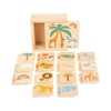Picture of Small Foot Memory game Safari, wooden, 28 pcs.
