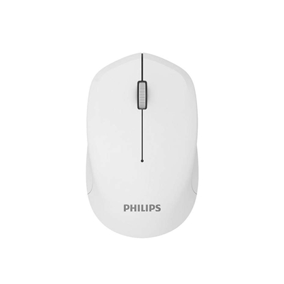 Picture of Philips Mouse M344, wireless, white