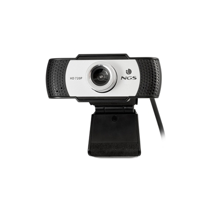 Picture of NGS Webcam Xpresscam720, with microphone, black