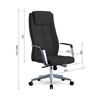 Picture of RFG Bogart HB Director s Chair, eco-leather, black