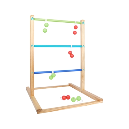 Picture of Small Foot Golf ball throwing game, wooden