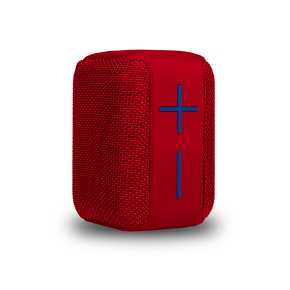 Picture of NGS Speaker Roller Coaster, with Bluetooth, 10 W, waterproof, red