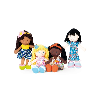Picture of Nowa Szkola Dolls of the World, 35 cm, 4 pcs.