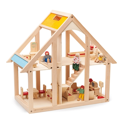Picture of Nowa Szkola Doll house, wooden, 65 x 31 x 59 cm