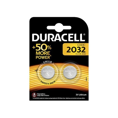 Picture of Duracell Литиева батерия CB MES LM 2032, 3 V, 2 броя
