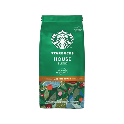 Снимка на Starbucks Мляно кафе Medium House Blend, 200 g