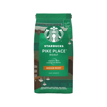 Снимка на Starbucks Кафе на зърна Medium Pike Place Roast, 200 g