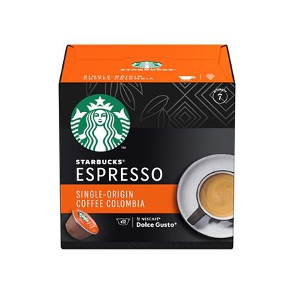 Снимка на Nescafé Кафе-капсула DG Starbucks, Medium Colombia, 12 броя