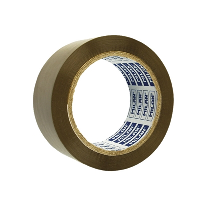 Picture of Milan Self-adhesive tape, solvent, brown, 50 mm x 66 m, 6 pcs.